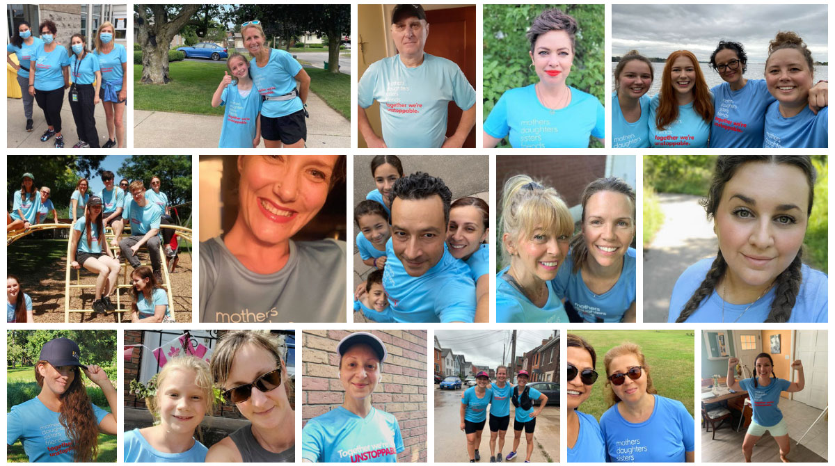 Run for Women Collage
